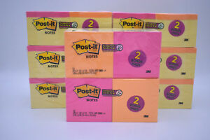8 Post it Packs Of 12 90 Sheets Per Pad 3x3 Free Shipping 8640 Total Sheets 3m