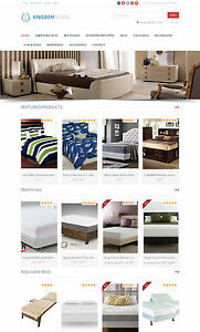 Beds Store Amazon Affiliate Website Free Hosting