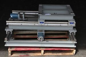 Motorized Powered X y Industrial Linear Stage 42 x42 Base Table Stand