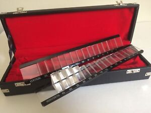 Brand New Prism Bar Ophthalmic Vertical Horizontal Set With Secured Case