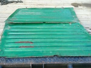 Oliver 77 Gas Louvered Side Panels Antique Tractors
