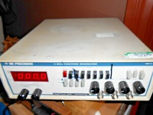 Bk Precision 4011 5mhz Function Generator Calibrated 1 8 18 Lot 6223