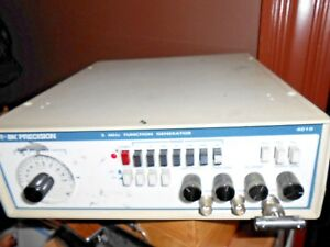 B K Precision 4010 2 Mhz Function Generator Calibrated 1 8 18 Lot 1969