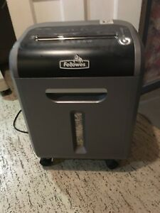 Fellowes Ps 79ci Jam Proof Paper Shredder Cds And Dvds Black Works Well