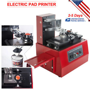 Electric Pad Printer Printing Machine Pad Printing Date Code For Bottle Cup Set
