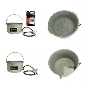 418 Handheld Oiler Bucket 10883 Gallon Of Ridgid Dark Pipe Threading For 300