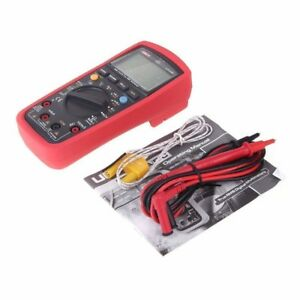 Signstek Digital Multimeters Compact Size Ac Clamp Meter Uni t Ut139c True Rms