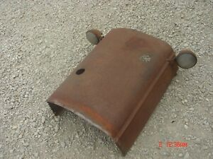 Vintage Rat Rod Steampunk Case Tractor Hood Headlights