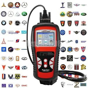 Kw830 Obdii Obd2 Eobd Car Automotive Engine Fault Code Reader Diagnostic Scanner