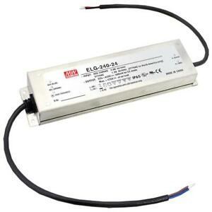 Mean Well Elg 240 24 24v 10a Power Supply