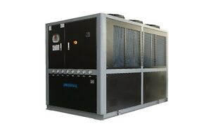 30 Ton Air Cooled Chiller 369 900 Btu h 54 Hp Ul Listed For Usa