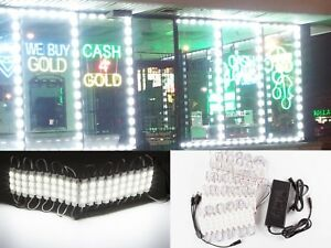 Ledupdates 60ft Storefront Window White Led Light 5630 Ul 12v 120w Power