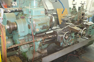 Warner Swasey 2a Turret Lathe With 15 Bison Chuck And Accessories W S 2a