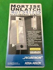 Securitron Munl 12 Mortise Unlatch Strike 12v