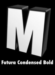 Futura Font Illumn Led Channel Letter With Black Trim Return