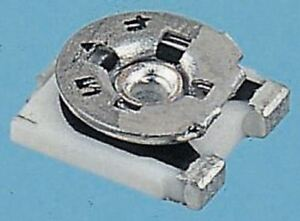 Bourns Tc33 Series Smd Trimmer Resistor With Solder Pad Terminations 10k 25