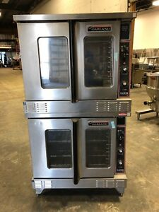 Garland Master 200 Double Stack Natural Gas Convection Oven Works Great