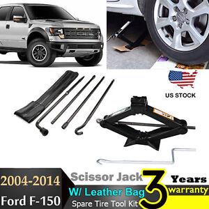 2009 2016 Ford F150 Spare Tire Tool Kit Pack Replacement Sissor Jack W Handle
