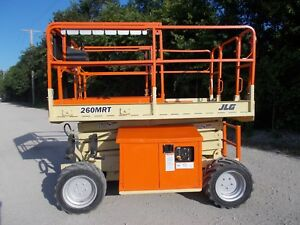 2005 Jlg 260mrt All Terrain Scissor Lift Dual Fuel Rough Terrian 4wd Lift Jlg