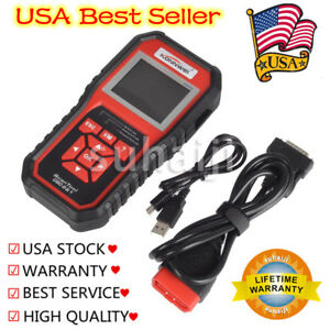 Konnwei Kw850 Obd Ii Scan Tool Auto Car Code Reader Eobd Diagnostic Scanner Usa