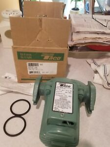 Taco 0010 f3 Hot Water Circulator Pump 1 8 Hp