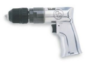 3 8 In Keyless Chuck Air Drill Driver Cpt 785qc Brand New