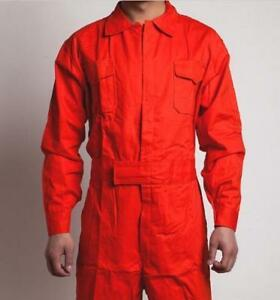 Mens Coveralls Uniform Overalls Mechanic Protective Force Flight Working Fashion