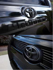 4runner 2010 2018 Black Emblem Overlays 00016 89016