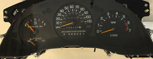 1999 Chevrolet Monte Carlo Used Dashboard Instrument Cluster For Sale