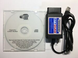Modified Elm327 Usb For Ford Elmconfig Focccus Forscan Focus Smax Mondeo Cmax