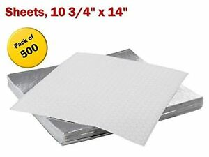 Insulated Foil Sandwich Wrap Sheets 10 3 4 X 14 Pack Of 500
