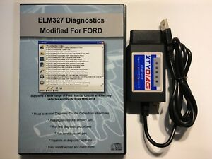 Elm327 Usb Modified For Ford Elmconfig Hs can Ms can Forscan Obd2 Elmconfig