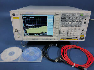 Keysight Agilent E4448a Psa Spectrum Analyzer 3 Hz 50 Ghz