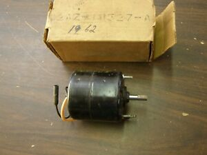 Nos Oem Ford 1961 1962 Galaxie Heater Motor For Recirculating Heater