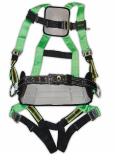 Miller Duraflex Full Body Safety Harness P950qc W body Belt Quick Connects