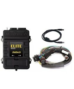 Haltech Ht 151202 Elite 2000 Ecu 2 5m 8 Ft Basic Universal Wire in Harness