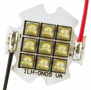 Ils Ilh on09 rdor sc211 wir200 Oslon 80 9 Powerstar Circular Led Array 9 Red