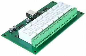 Devantech 16a 8 channel Latching Relay Module