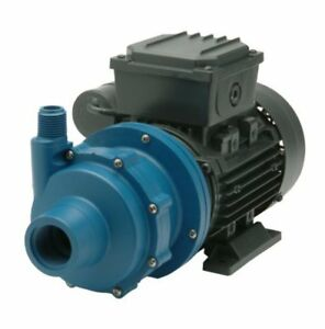 Finish Thompson Db4p m613 Centrifugal Magnetic Drive Pump Polypropylene 1 4 Hp