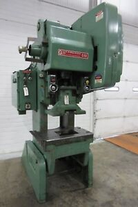 Bliss 45 ton Obi Mechanical Press With Air Clutch Press Used Am16868