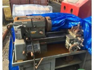 Clausing Colchester 12 X 36 Engine Lathe Needs Tlc