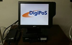 Digipos Retail Active Td1500 15 Touchscreen Lcd 2gb 160gb Win 7 Pos System