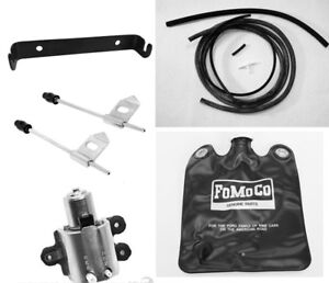New 1965 Ford Mustang Windshield Washer Kit Bag Hoses Pump Bracket Nozzles