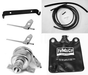 New 1966 Ford Mustang Windshield Washer Kit Bag Pump Hoses Nozzles Bracket