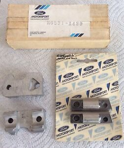 Nos Ford Motorsport Boss 429 hemi Rocker Steel Shafts aluminum Stands Two Pair