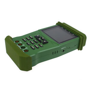K625p 3 5 Lcd Color Camera Video Cctv Tester Analogy Ptz Control Portable Green