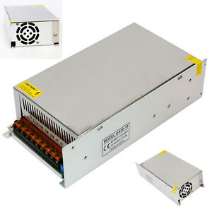 Ac110 240v To Dc 12v 50a 600w Led Transformer Driver Switch Power Supply Aadpter