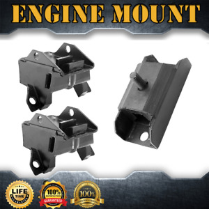 Engine Mount Auto Trans Mount Set 3pcs For 1977 Oldsmobile Cutlass 6 6l 403cid