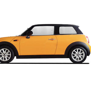 Fit For Mini Cooper Hardtop Hatchback 2 Door 2005 2013 Side Window Sunshade 4pcs