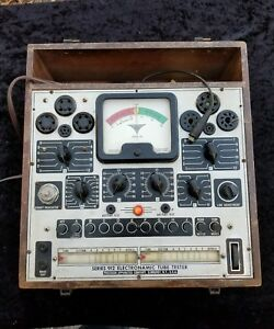 Vintage Precision Apparatus Series 912 Electronamic Tube Tester Estate Radio